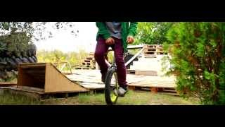 2010-2012 unused clips extreme unicycle pausuria