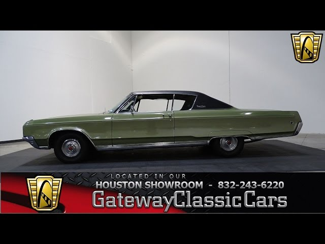 1968 Chrysler Newport Custom Gateway Classic Cars #729 Houston Showroom