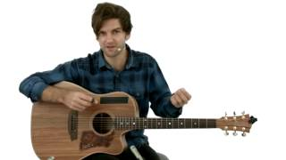 Percussive Fingerstyle - #22 Chase the Sky - Guitar Lesson - Daniel Champagne