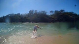 FLIPS AT THE LAKE