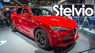 2016 Los Angeles Auto Show | 2018 Alfa Romeo Stelvio | First Look & Overview