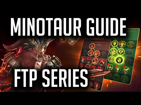 RAID | How to beat Minotaur Free to Play!