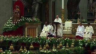 "Francisco pidió ""no ser cristianos sin esperanza"""