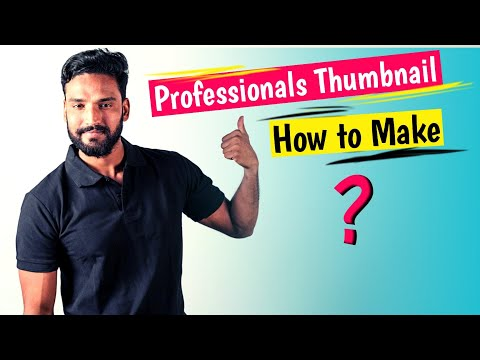 Download thumbnail for How to Make Attractive Thumbnail For YouTube