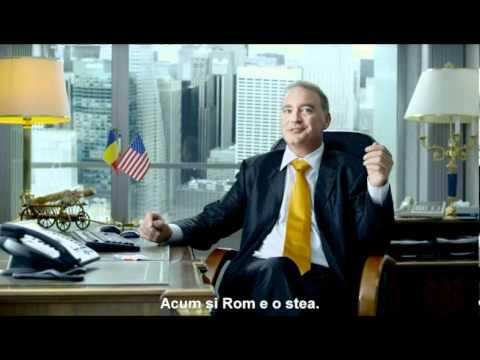 Noul Rom cu steag american - Stars - The taste of coolness