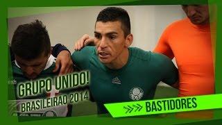 Bastidores - Palmeiras  2 x 2 Flamengo - Brasileirão 2014