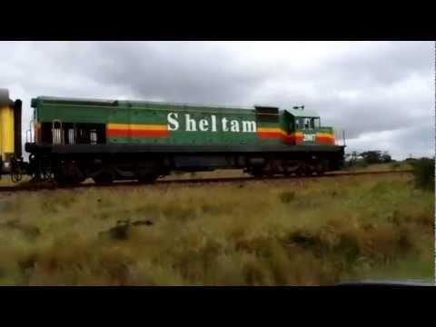 Kei Rail passenger train, Eastern Cape, South Africa