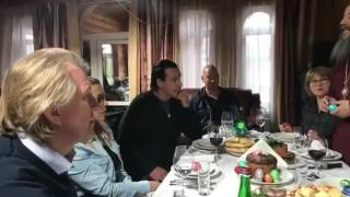 Rammstein Till Lindemann and Steven Segal (Happy Easter) 2017 part 2 (AM)