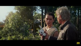 Star Wars The Force Awakens TV Spot Reaction (featuring Rey and Han Solo)