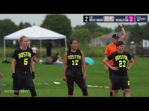 Video Thumbnail: 2019 U.S. Open Club Championships, Women's Crossover: Boston Brute Squad vs. Medellin Revolution