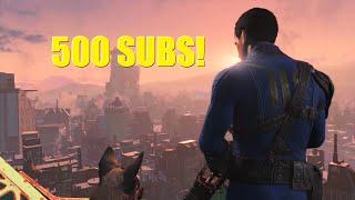 Fallout 4: Nuke Gatling vs 500 Settlers (Thank You For 500 Subs!)