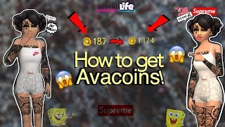 Avakinlife: HOW TO GET COINS! (On Avakinlife)