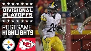 Steelers vs. Chiefs   NFL Divisional Game Highlights