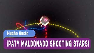 Paty Maldonado shooting stars meme - Mucho gusto 2017