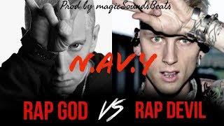 [FREE] Eminem Vs Machine gun Kelly - N.A.V.Y // type beats instrumental // Prod by MagicSoundsBeats