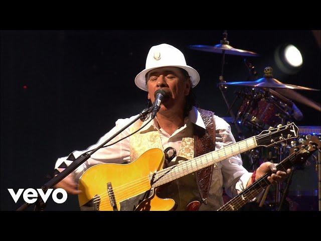 Video en directo de Santana - Maria Maria