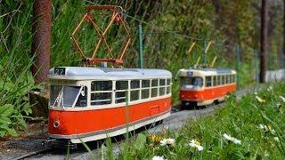 Zahradní tramvaj Modely typ T1 a T3