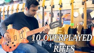 10 Overplayed Guitar Store Riffs