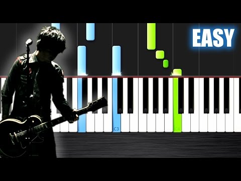 Green Day 21 Guns Easy Piano Tutorial By Plutax Synthesia