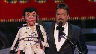 Terry Fator Performs Elvis LIVE Christmas Special  | America's Got Talent Holiday Show 2016