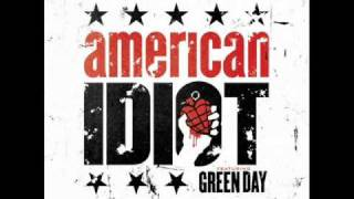 American Idiot Musical - Give Me Novacaine