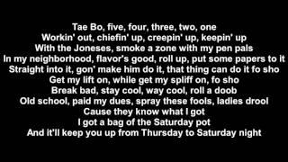 Snoop dogg feat Wiz Khalifa - Kush Ups (lyrics)