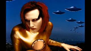 Marilyn Manson - Golden Years - Rare Mechanical Animals Cover