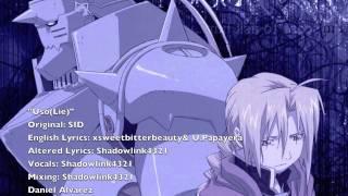 ENGLISH 'Uso(Lie)'  Fullmetal Alchemist Brotherhood