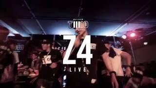 """""""รวยเเต่...เขือ"""" Z4 (MikeSickFlow Feat. P$J , NACHOT) [LIVE] @TWIO3 BKK  RAP IS NOW"""
