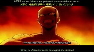 JAM Project~The Hero~Sub Español y Japones (opening de one punch man)