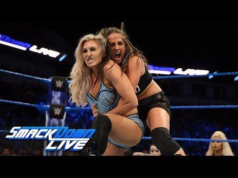 Download Video Charlotte Flair Vs. Sarah Logan: SmackDown LIVE, Feb. 13, 2018