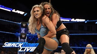 Charlotte Flair vs. Sarah Logan: SmackDown LIVE, Feb. 13, 2018