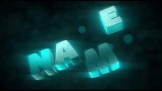 Best Free 3D Text Animation Blender Intro Template Download
