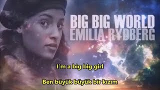 Emilia - Big Big World (Cover) İngilizce-Türkçe Altyazı (English-Turkish Subtitle)