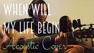 Tangled/Mandy Moore - When Will My Life Begin (Live Acoustic Cover)