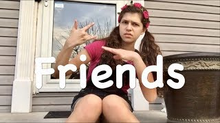 Friends - Marshmellow ft. Anne-Marie ASL Cover