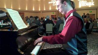 Minuet & Trio from Bach's French Suite #3.