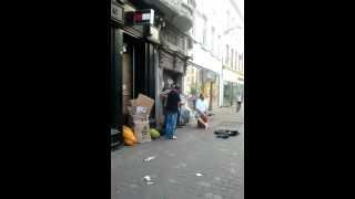 Tarantella on shop street Galway