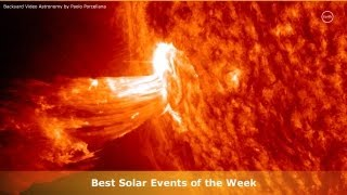 Best solar events, eruptions, flares, loop and prominence liftoff