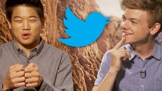 Maze Runner: The Scorch Trials Cast Live Tweets Inside Movie