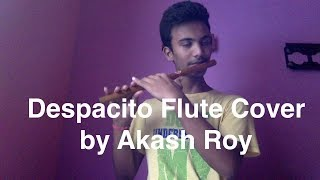 Despacito - Luis Fonsi Flute Cover by Akash Roy