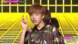 B.I.G - Hello, 비아이지 - 안녕하세요, Music Core 20140802 width=
