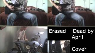 Erased by Dead by April Dual Guitar and Drum Cover