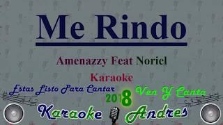 Me Rindo - Santana The Golden Boy, Amenazzy y Noriel     Karaoke   