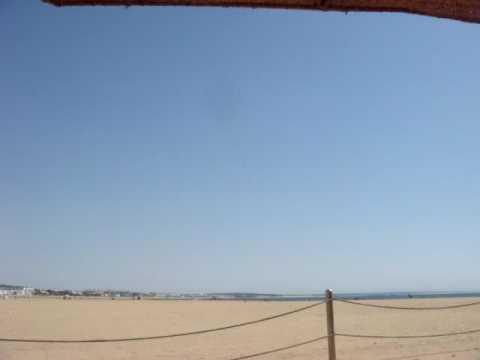 Beach of Agadir, Morocco