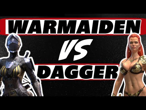 Dagger vs Warmaiden who do you choose? Raid Shadow Legends
