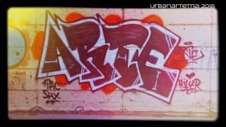 Merry Xmas Catania 2016 - Street Art Graffiti Bombing | Sicily