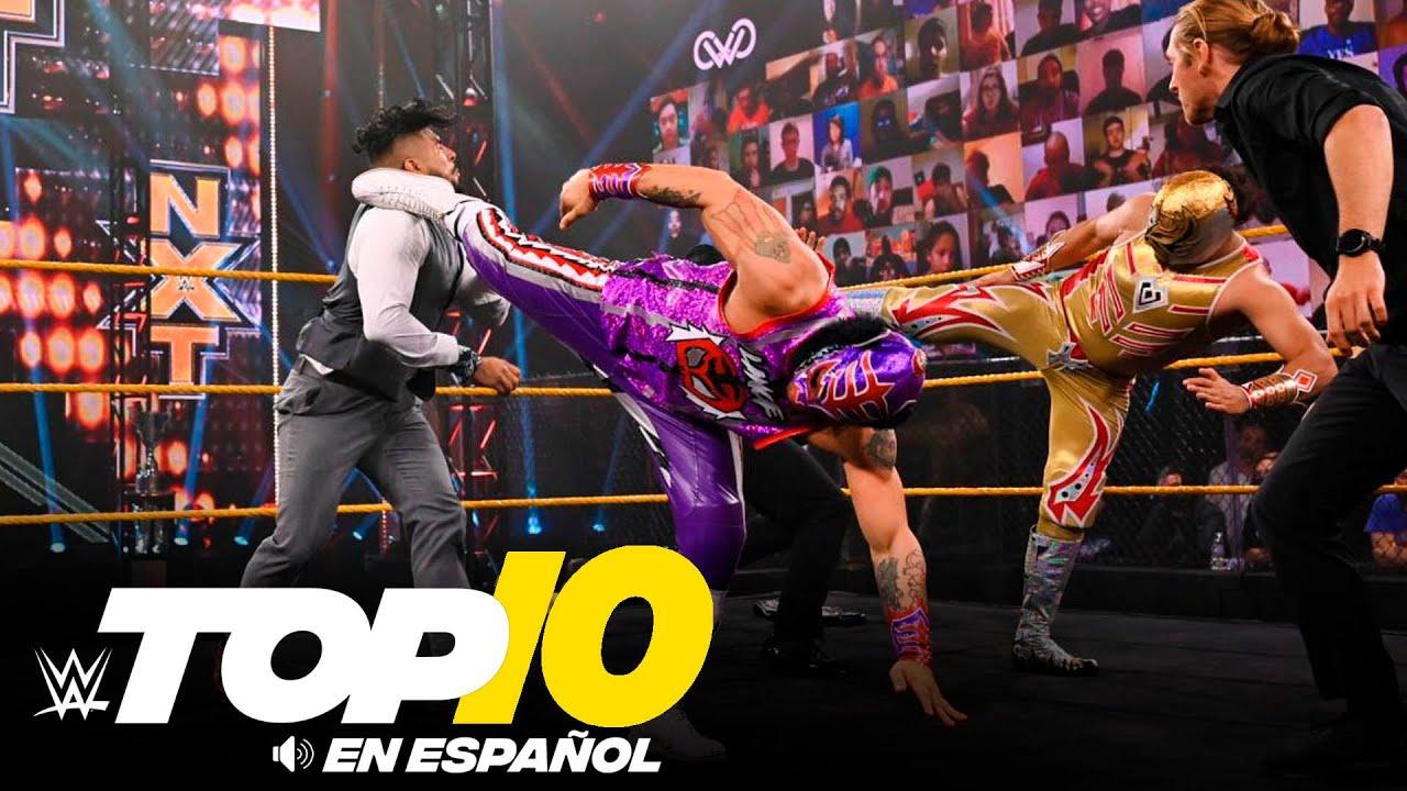 WWE - Top 10 Mejores Momentos de NXT En Español: WWE Top 10, Ene 20, 2021