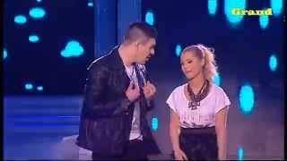 DJ ERKE i IVAN JEDINI  feat ALEKSANDRA BURSAC - Suze Kukavice - (Grand Narodna Televizija 2014)