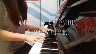 Amy Lee - Speak To Me (Snippet) Piano Cover
